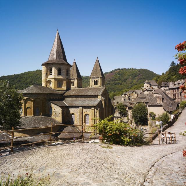 Abbaye Cistercienne du village de Conques