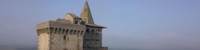 Eglise de Sainte-Radegonde et sa vue