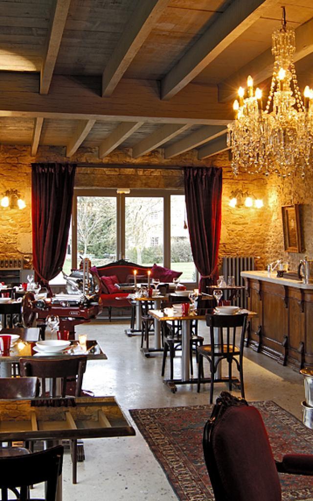 Salle de restaurant du Clos au Château Labro
