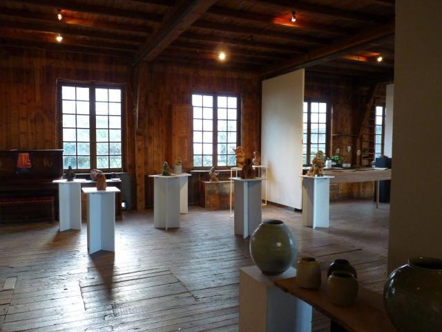 Salle d'exposition de La Menuiserie