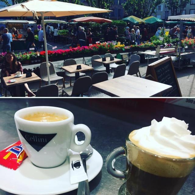 Café en terrasse Chez Margo