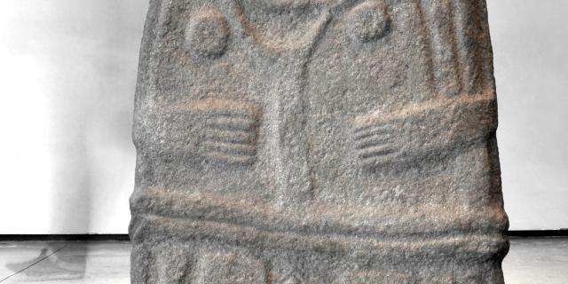 La Dame de St-Sernin, statue-menhir